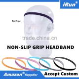 Skinny Printed Mini Graphic & Solid Headband Sweatband Assorted Colors/Styles - For Ladies Girls School Gym Sports