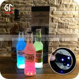 Wholesale China Night Club Led Light Pad Sticker Coaster Led Bottle Glorifier