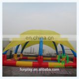 Hot summer hot sale swimming pool giant inflatable unicorn pool float inflatable frame pools inflatable adults pool