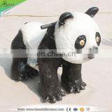 KAWAH Shopping Mall Coin Operated Walking Animal Ride On Panda
