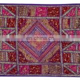 Designer sari beads Patchwork home decoration wall hanging