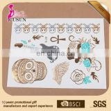 Flash Tattoo Gold and Silver Skin Temporary Tattoo sticker