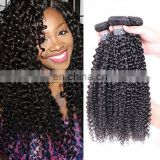 Deep Curl Natural Color Best Selling Good Feedback Virgin Human Hair Bundles indian hair weave