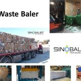 Waste Baler Machine