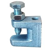 Galvanized iron beam clamp