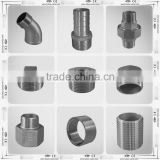 Cast Stainless Steel Hex Threaded Hose Pipe Nipple