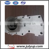 Supply High Performance Dongfeng Heavy Truck Part Oil Filter Base 4931572 for Cummins ISDE Diesel Engine