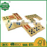 wooden domino game set for garden game