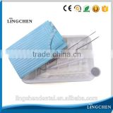 High quality Dental disposable package set have colorful waterproof dental bib,mouth mirror , probe, tweezer