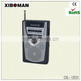 Double AM/FM band frequency radios with external antenna jack radio digital am fm