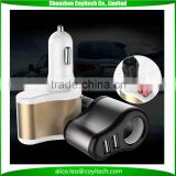 Patent cigarette lighter car truck suv charger for GPS navigator and iphone smartphones tablet pc