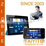 Mobile control TYT smart home automation control solutions Free app Zigbee smart touch controls