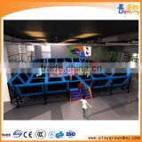 Reliable factory high quality indoor trampoline playground equipment