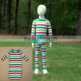 wholesale matching family pajamas kids christmas pajamas family christmas striped pajamas                                                                         Quality Choice                                                                     Supplier&#