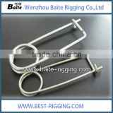 Different size U type zinc plated linch pins