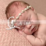 Hight quality pearls crystal Headband for Wedding Head Chain / Women beautiful rhinestone Hair Band / Beach Party Hairwear