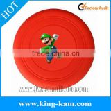 Dog Silicone Frisbee, Pet Training Product For Dogs flying frisbee