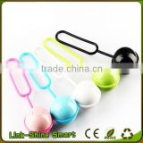 Colorful Remote Bluetooth Shutter Ball For Smart Phone ,Selfie Stick With Bluetooth Shutter Button