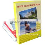 "140g matte inkjet photo paper for HP, Canon, Epson inkjet printer, A3, A4, A6, 10X15, 4R, 3R, 5R, 24"", 36"", 42"", jumbo roll"