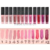 Waterproof Elegant Daily Color Liquid Lip Gloss Cosmetics Matte Smooth Lip Glaze Long Lasting Sweet Girl Lipgloss Mouth