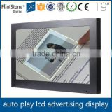 wholesale 19 inch touch screen pos lcd display digital photo frame advertising product                                                                         Quality Choice