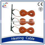 self regulating teflon insulation silicone rubber carbon fiber sheath underground heating cable