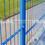 Pvc coated twin wire 868 fence panel/Construction Zone Garden Modern Fence / twin wire fence with two horizonta ( Manufacturer )