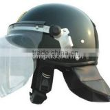 French Style Polycarbonate Riot Control Equipment Anti Riot Police Helmet