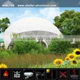 Strong steel walls geodesic dome tent for sale