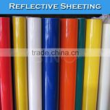 SINO STICKER White Advertising Grade Reflective Sheeting/Self Adhesive Reflective Vinyl Film