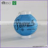 new design battery operated paper lanterns led lights lantern