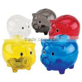 Promotion Fashion Kids Plastic Piggy Coin Bank Made In China                                                                         Quality Choice