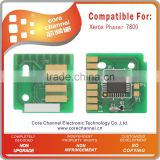 Compatible Toner Chip for Xeroxs Phaser 7800 chip Phaser7800 106R01566 106R01567 106R01568 106R01569 Toner Chip Cartridge Chip