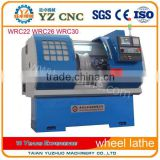 High Turbidity/ High Concentration Alloy wheel repair CNC Lathe