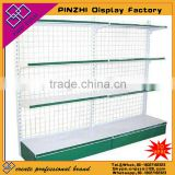 PZC-001 Custom wooden convenience store display shelves