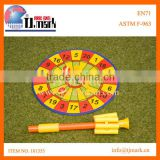 GARDEN GAME BLOW&THROW DARTS SET