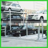 Simple Three Levels Residential Pit Garage Vertical Lifting Car Parking System