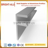 Flight case aluminum extrusion profile aluminum double angle extrusion case hardware accessories aluminum profile