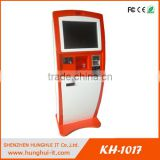 Floor Stand Terminal Barcode Reader/Scanner Kiosk, Touch Screen Self-service Terminal Kiosk