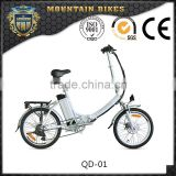 20 inch 36volt beautiful design folding electric bicycle