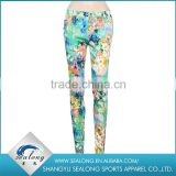 2016 Spring women sexy fitness flower legging pants women camouflage pants                                                                         Quality Choice