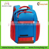 China Wholesale Metalhead Color Backpack 600D TPE Coated Polyester Teblet & Laptop Pack