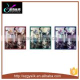 NO MOQ customer design digital printing silk scarf                                                                         Quality Choice