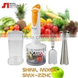 [SHINIL] Hand Blender Grinder Food Mixer SMX-22HC Shake Vegetables Fruit/Electric Hand Mixer