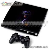 2014 Best Sale Wild Beast Case Skin Stickers For PS3 Slim Console Controller With Factory Price For Playstation4