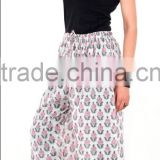 Indian Hand Block Printed Arabian Palazzo Pant For Women