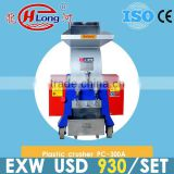Shredding lump plastic breaker machine