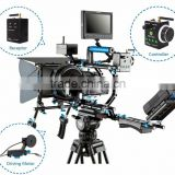 Wondlan Wireless DSLR Shoulder Mount Rig Video Shoulder Camera Mount Support System Stabilizer