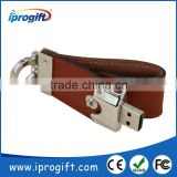 2016 HOT CHEAP Wholesale Promotional gift Customized Personalized Leather USB Flash Drive 1GB 2GB 4GB 8GB 16GB 32GB