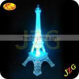 Wholesale colorful fashion travel France souvenir plastic mini eiffel tower for home decoration